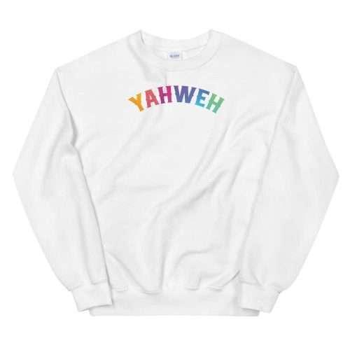 Yahweh Happy Colors Sweatshirt