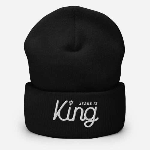 Jesus is King Beanie