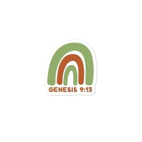 Genesis 9:13 Sticker