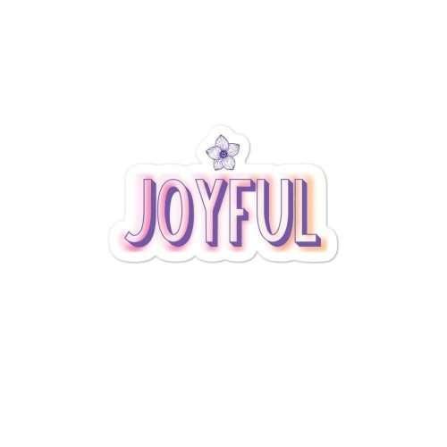 Joyful Sticker